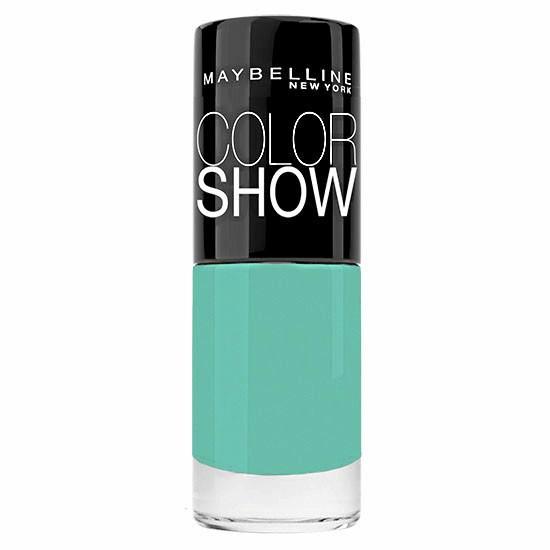 Vernis Tenacious Teal, ColorShow, Gemey-Maybelline. 5 €.