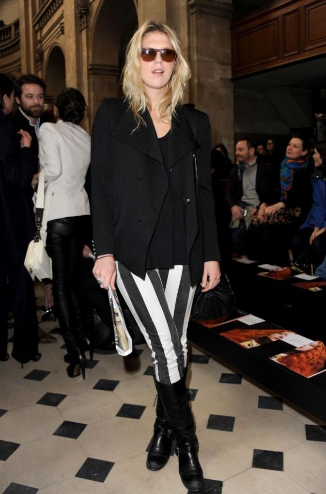 Alexandra Richards chez Jean-Charles De Castelbajac - Fashion week automne-hiver 2013/14