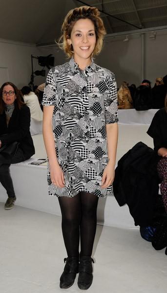 Alysson Paradis chez Devastee - Fashion week automne-hiver 2013/14