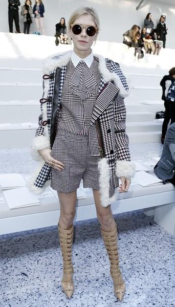 Elena Perminovac chez Chloé - Fashion week automne-hiver 2013/14