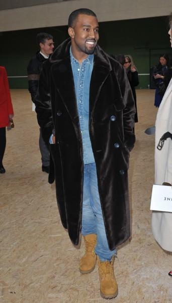 Kanye West chez Céline - Fashion week automne-hiver 2013/14