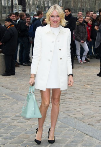 Naomi Watts chez Louis Vuitton - Fashion week automne-hiver 2013/14