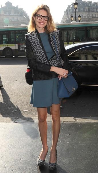 Natalia Vodianova chez Stella McCartney - Fashion week automne-hiver 2013/14
