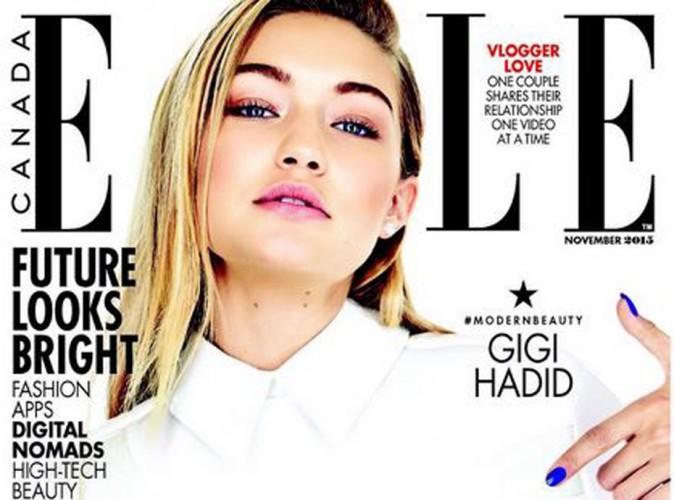 Gigi Hadid : beauté acidulée en une de ELLE Canada !