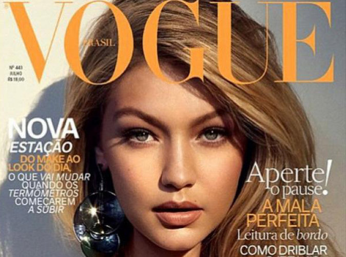 Gigi Hadid : captivante et sexy en couverture de Vogue Brésil