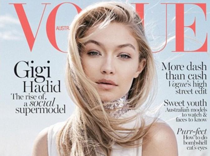 Gigi Hadid, une beauté naturelle pour la couverture de Vogue Australie !