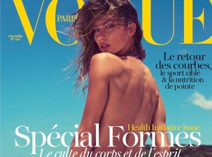 Gisele Bündchen : terriblement sexy en couverture du Vogue !