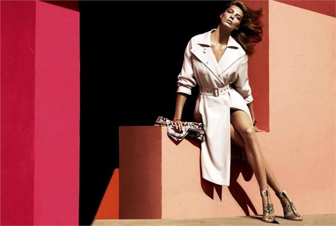 Mode : Ferragamo : Daria Werbowy égérie de la collection printemps-été 2014 !