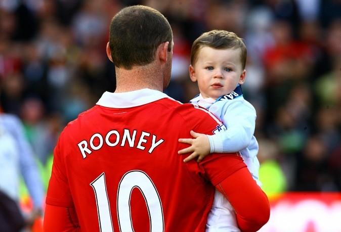 Kai Rooney, fils de footballeur !
