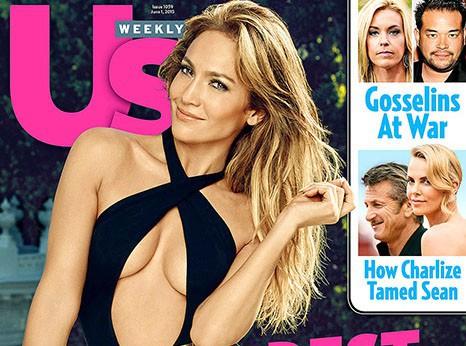 Jennifer Lopez : incroyablement sexy en couverture du US Weekly !