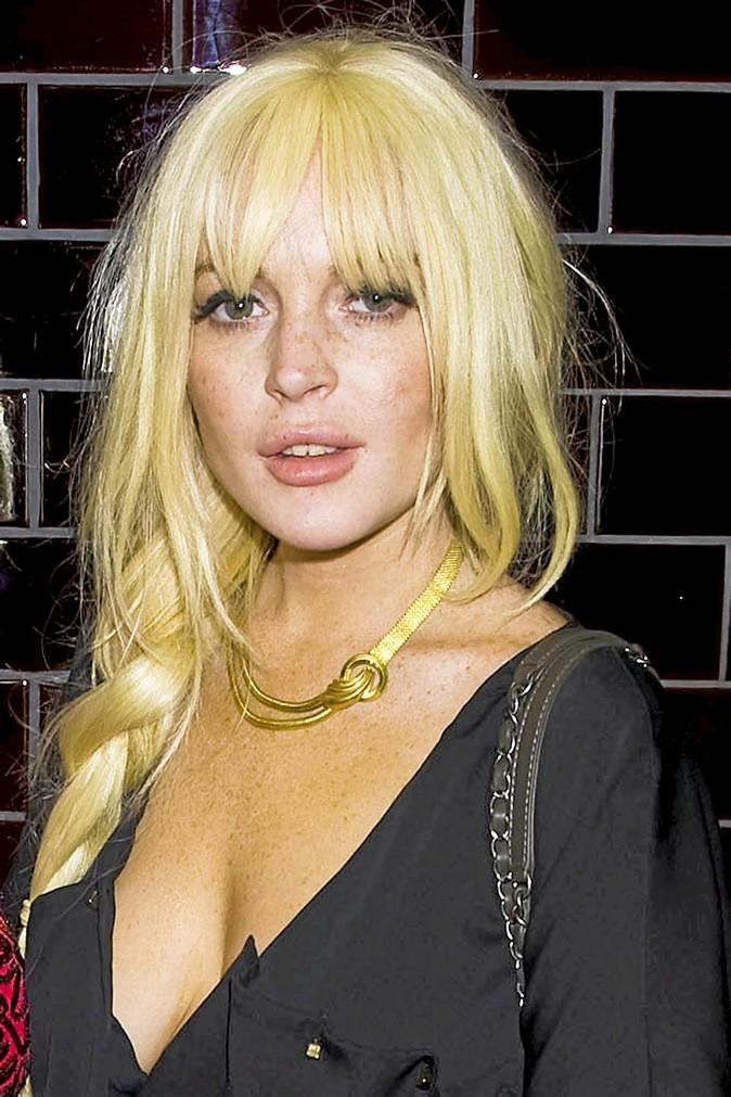 1- Lindsay Lohan !