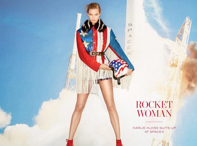 Karlie Kloss : patriote sexy en une de WSJ Magazine !