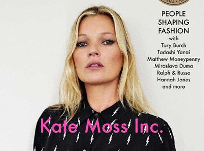 """Kate Moss lance sa propre agence de mannequins """"pas forcément beaux"""" !"""