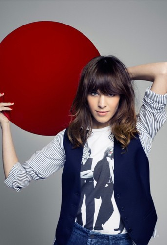 Alexa Chung pour le Red Nose Day de Comic Relief.