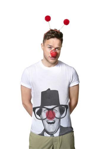 Olly Murs pour le Red Nose Day de Comic Relief.