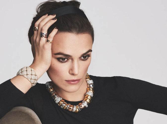 Keira Knightley : l'élégance à son paroxysme pour la nouvelle égérie Chanel joaillerie