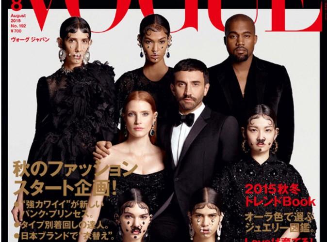 Kendall, Kanye, Jessica... La team Givenchy en couverture de Vogue Japan !