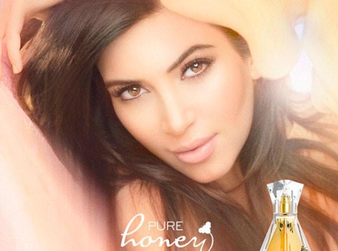 Kim Kardashian : elle révèle la vieille photo de la nouvelle campagne de son parfum...