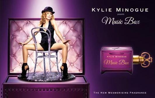 La campagne publicitaire du nouveau parfum de Kylie Minogue !