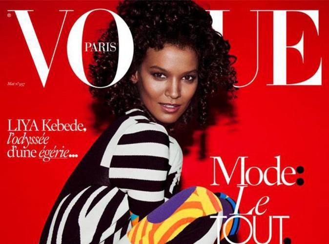 La bombe Liya Kebede remet la black attitude à l'honneur en couv' de Vogue Paris !