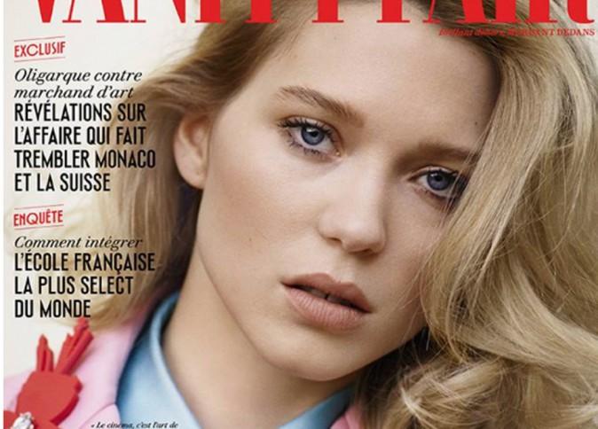 Le tout Hollywood se l'arrache, Léa Seydoux fait la couverture de Vanity Fair !