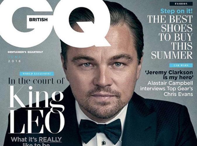 """Léonardo DiCaprio : en couverture de GQ British, personne ne résiste au """"Loup de Wall Street"""" !"""