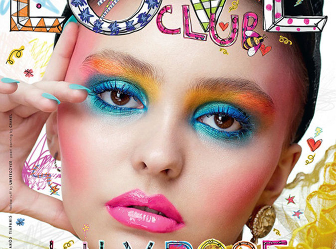 Lily-Rose Depp : icône des années 80 en couverture de Love Magazine !