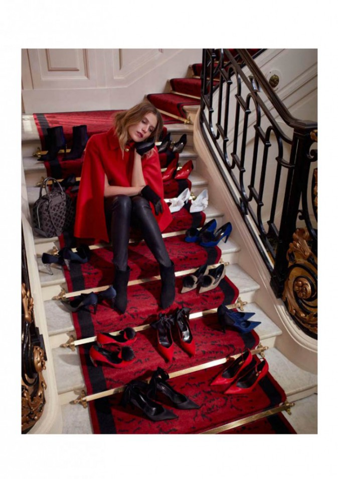 Louis Vuitton : Dree Hemingway, ambassadrice de charme pour la pré-collection de chaussures automne 2013