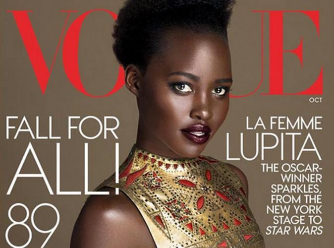 Lupita Nyong'o conquérante pour sa seconde couv' de Vogue US !