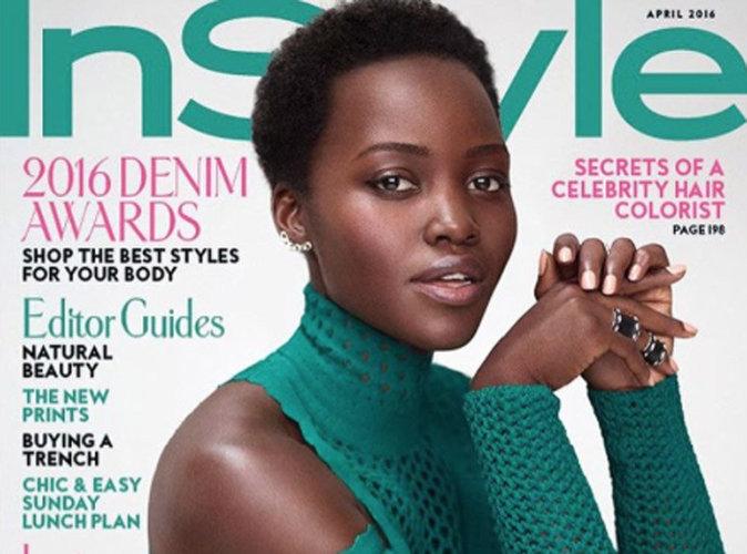 Lupita Nyong'o : fascinante et charismatique en couverture de InStyle Magazine !