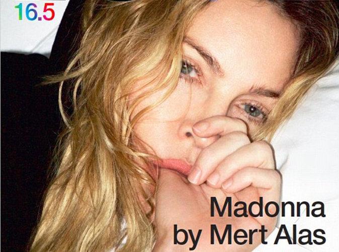 Madonna : sans maquillage, elle fait la couvertue de LOVE pour ses 58 ans !