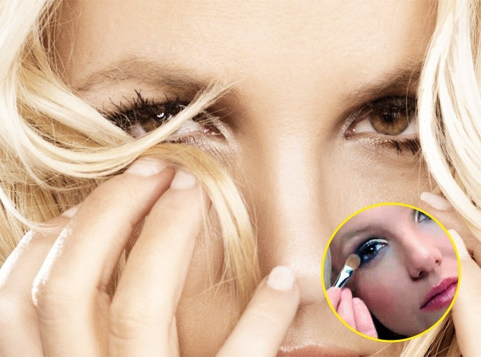 Maquillage : Britney Spears fan de l'Aqua Cream de Make Up For Ever !