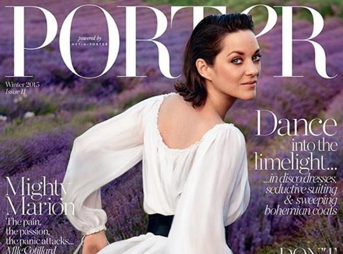 Marion Cotillard : le Dior lui va si bien en couv' de Porter Magazine !