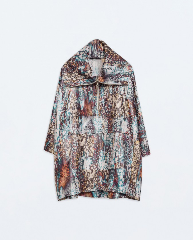 Imperméable moucheté, Zara, 49,95€