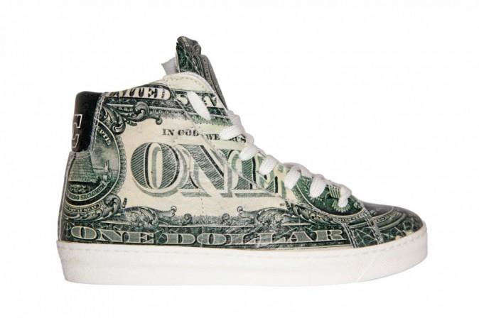 Sneakers montantes en cuir, American College 45 €