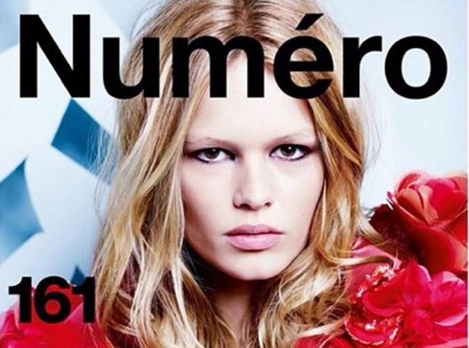 Mode : Anna Ewers cover-girl féminine et pleine d'assurance pour Numéro !