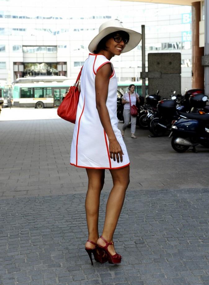 Audrey Pulvar et ses amour pour les stilettos