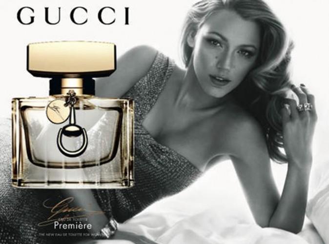 Mode : Blake Lively : élégante et glamour pour l'Eau de Toilette Gucci Première !