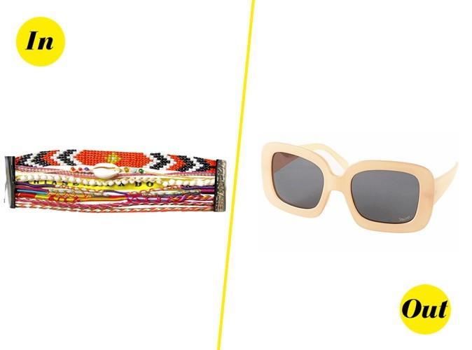 Mode : bye bye aux lunettes mouche, bonjour aux bracelets Ipanema !