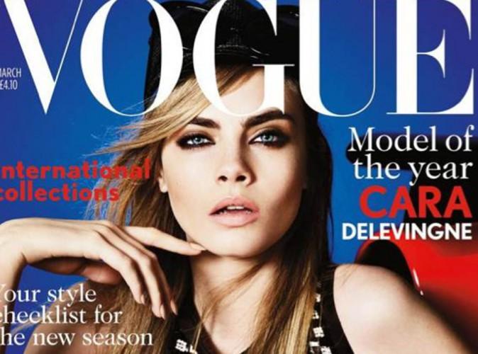 Mode : Cara Delevingne : en guerre contre le magazine Vogue UK !