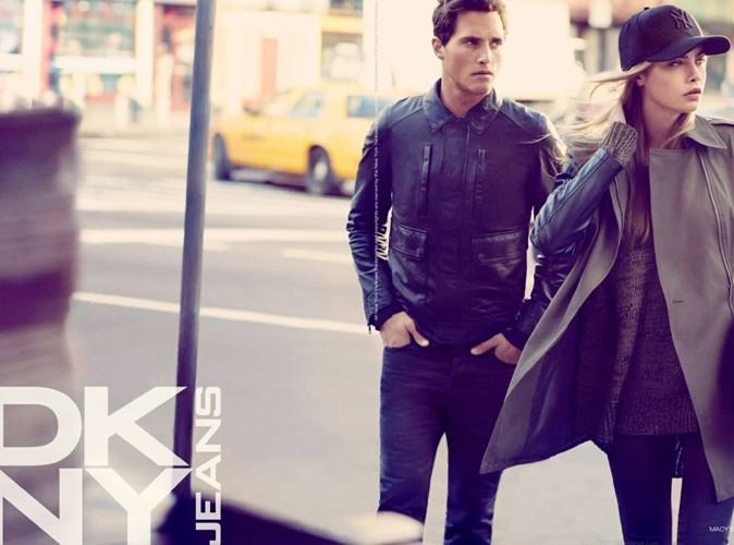 Mode : Cara Delevingne : une sublime égérie au look hipster et en très bonne compagnie pour DKNY !