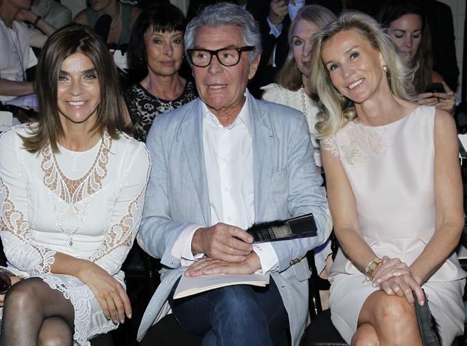 Carine Roitfeld au défilé Jean Paul Gaultier Haute Couture Fall/Winter 2011/2012