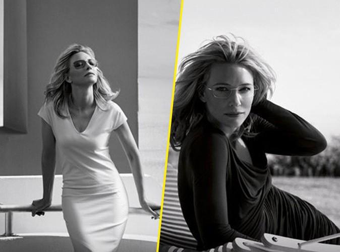 Mode : Cate Blanchett : l'actrice oscarisée chic et élégante pour Silhouette Eyewear !