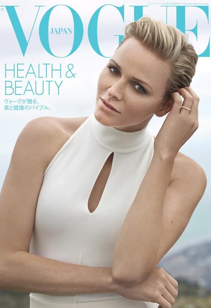 Mode : Charlène de Monaco cover girl du Vogue Japon !