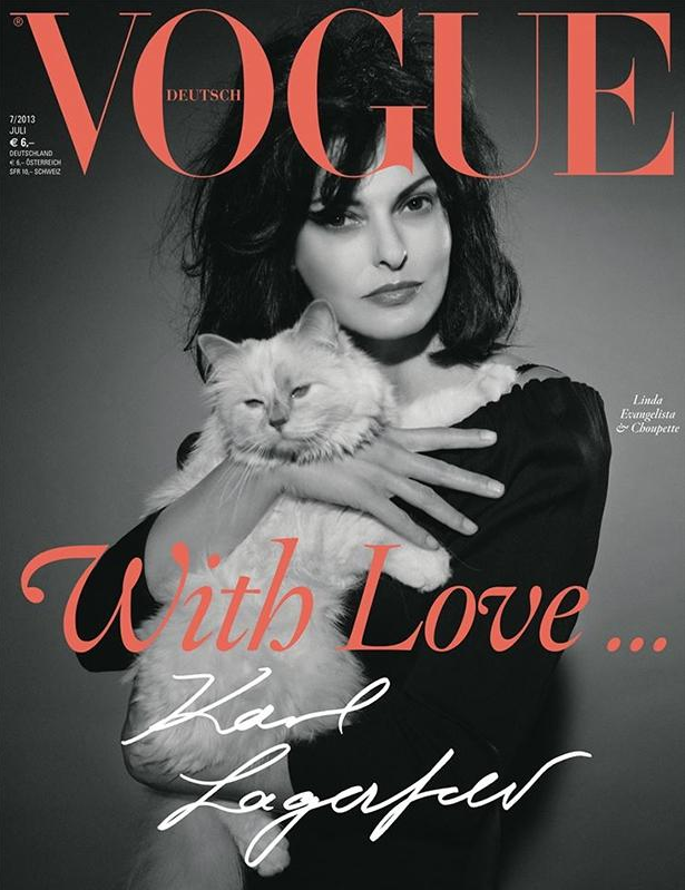 Choupette en cover de VOGUE