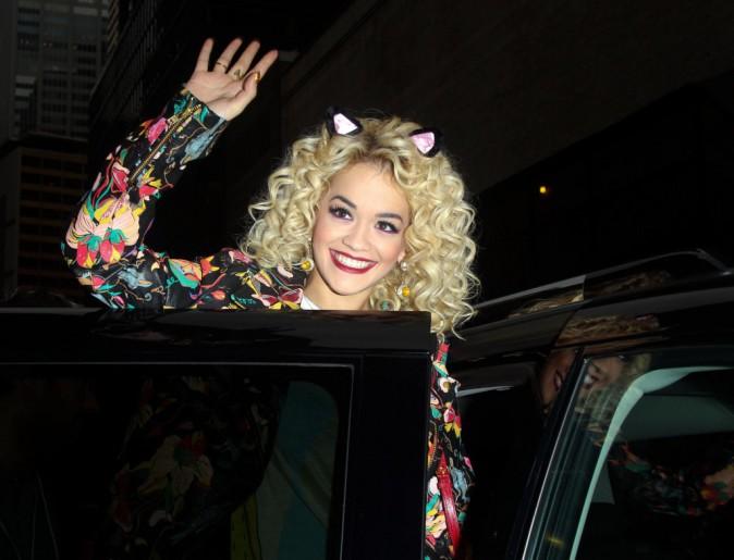 Rita Ora et ses oreilles de chat