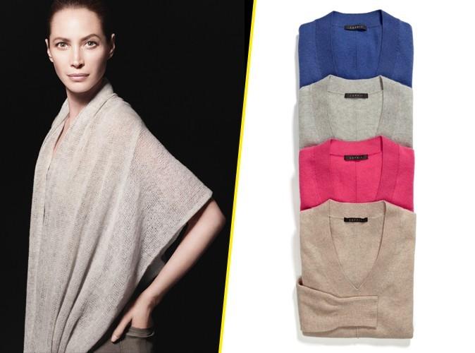 Mode : Christy Turlington incarne la nouvelle collection luxe de la marque Esprit