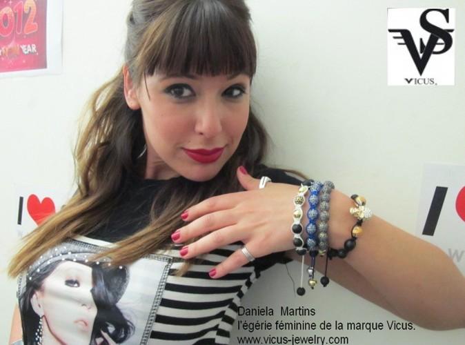 Mode : Daniela Martins (Secret Story 3) prend la pose pour les bijoux Vicus !