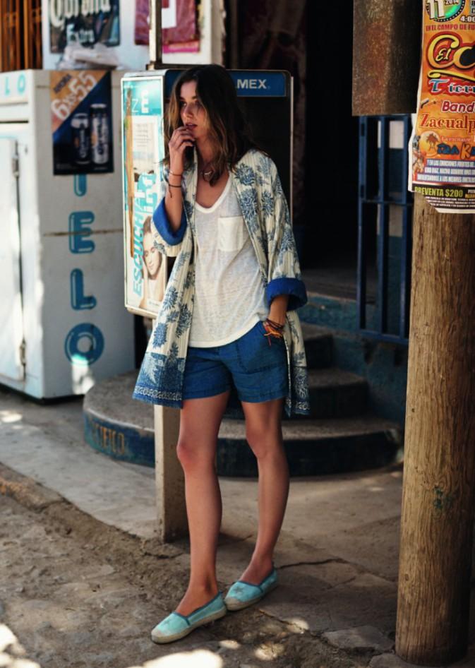 Mode : Daria Werbowy s'aventure une nouvelle fois chez Mango !
