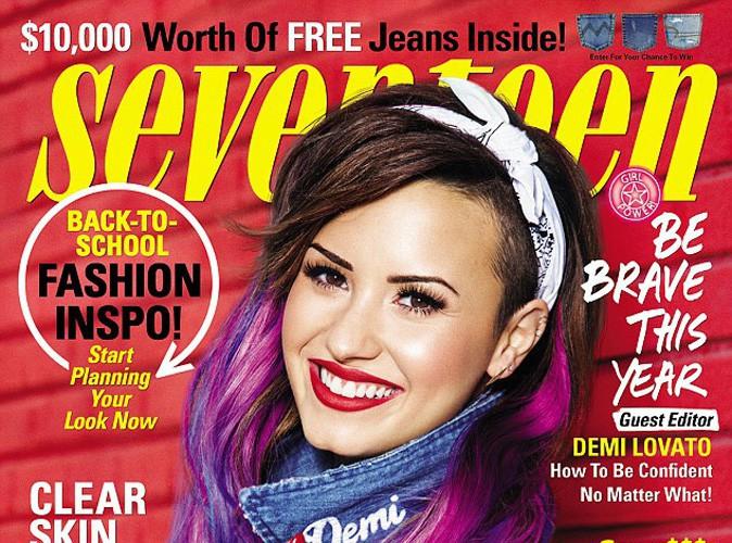 Mode : Demi Lovato en cover-girl rétro pour Seventen !